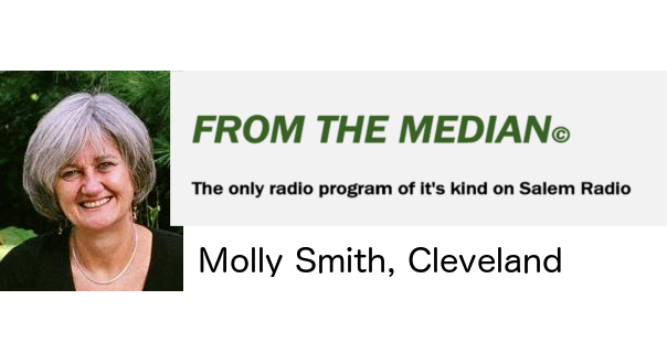 "Radio Interview ""From the Median"" host Molly Smith"