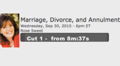 Abolishing Canon Law, Tacitly Condoning No-Fault Divorce