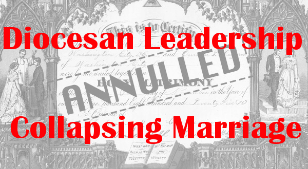 Diocesan Leadership Collapsing Marriage