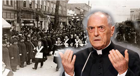 Dean Roman Rota, Msgr. Pinto: Freemason and Term Ended