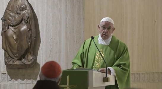 What is Pope Francis talking about?
