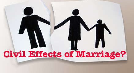 "Disaster from Misusing Words: ""Civil Effects of Marriage"""