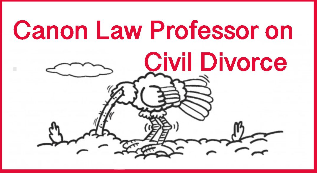 Canon Lawyer – Overlooking Evil in Divorce Courts