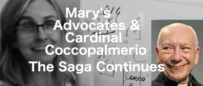 Mary's Advocates & Cdl. Coccopalmerio – the Saga Continues