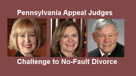 3-judge Panel Assigned for Constitutional Challenge of Divorce