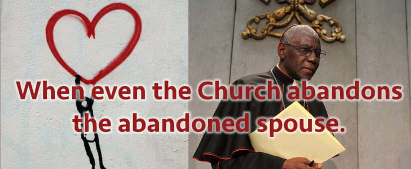 When the Church abandons the Abandoned Spouse