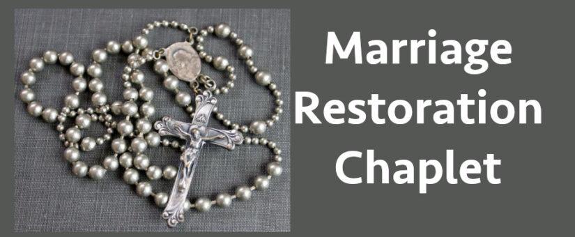 Marriage Restoration Chaplet
